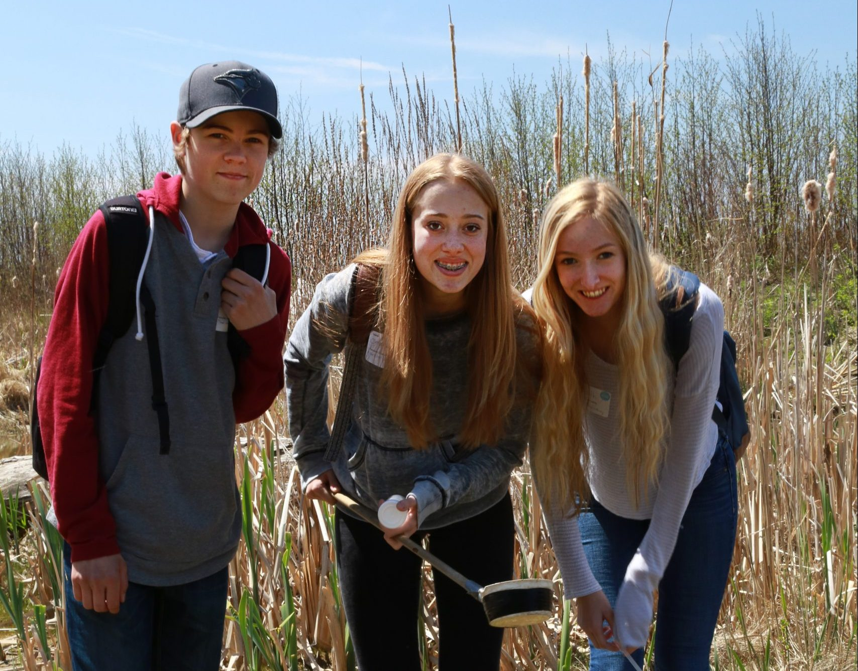LIT campers at Tommy Thompson Park