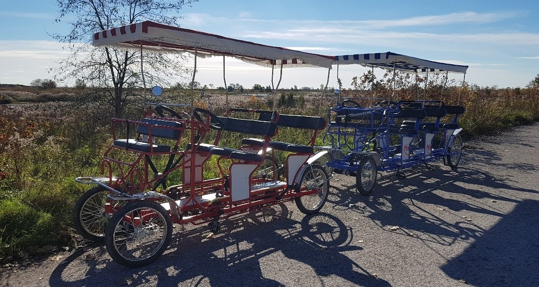 quadcycles at Tommy Thompson Park